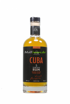 1731 Fine & Rare Cuba 5 year old Rum 46% vol. 700ml
