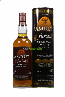 Amrut Fusion Indian Single Malt Whisky 50% vol. 700ml