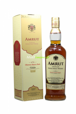 Amrut Single Cask Oloroso Sherry Butt #4133 Indian Single...