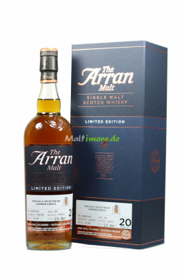 Arran 1997/2017 20 Jahre Sherry Butt #240 52,3% vol. 700ml