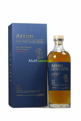 Arran 21 Jahre Single Malt Scotch Whisky 46% vol. 700ml