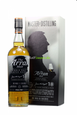 Arran James Mac Taggart 10th Anniversary Single Malt...