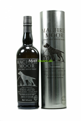 Arran Machrie Moor Cask Strength 4rd Edition 58,1% 700ml