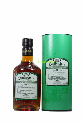 Ballechin 2007/2019 11 Jahre Madeira Single Cask No.201...