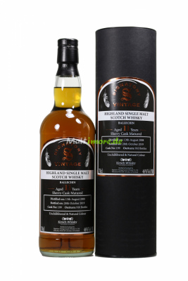 Ballechin 2008 SV #199 Sherry Cask by Kirsch 46% vol. 700ml