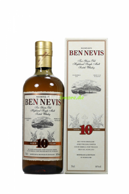 Ben Nevis 10 Jahre Single Highland Malt 46% 700ml