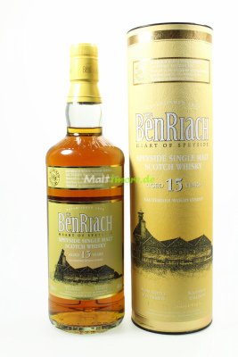 Benriach 15 Jahre Sauternes Wood Finish 46% 700ml