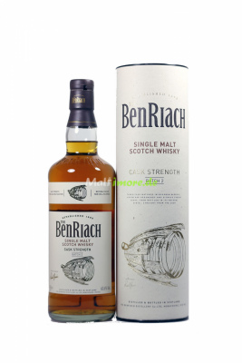 Benriach Cask Strength Batch #2 60,6% vol. 700ml