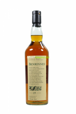 Benrinnes 15 Jahre Flora & Fauna Single Malt Whisky 43%...