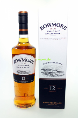 Bowmore 12 Jahre Islay Single Malt 40% 700ml