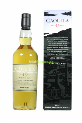 Caol Ila 15 Jahre Special Release 2016 Unpeated Islay...
