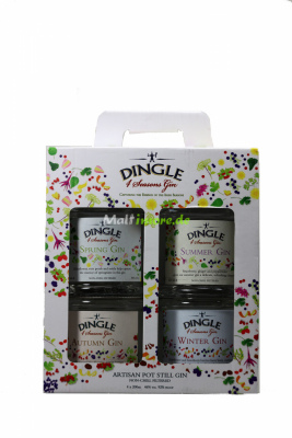 Dingle Four Seasons Gin Collection 46% vol. 4x200ml