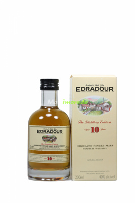 Edradour 10 Jahre Highland Single Malt 40% vol. 200ml