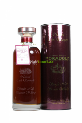Edradour 2006 SV Natural Cask Strength Ibisco Sherry Cask...