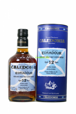 Edradour Caledonia 12 Jahre Single Malt Scotch Whisky 46%...