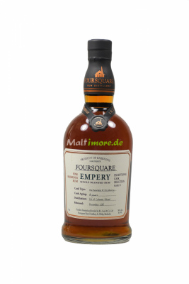 Foursquare 14 years Empery Rum Exceptional Cask Selection...