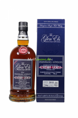 Glen Els The Distillery Edition 2018 Sherry Cask 45,9%...