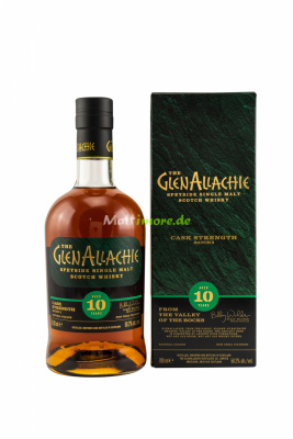 GlenAllachie 10 Jahre Cask Strength Batch #3 58,2% vol....