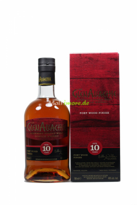 GlenAllachie 10 Jahre Ruby Port Wood Finish 48% vol. 700ml
