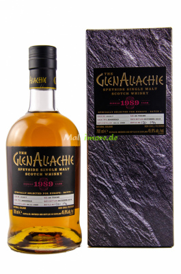 GlenAllachie 1989/2018 Hogshead #101217 45,8% vol. 700ml