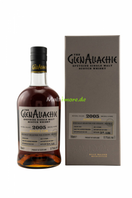 GlenAllachie 2005 Single Casks for Europe Oloroso...