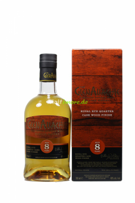 GlenAllachie 8 Jahre Koval Rye Wood Finish 48% vol. 700ml