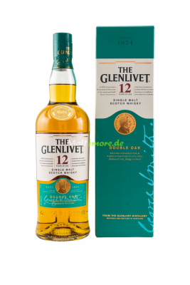 Glenlivet 12 Jahre Double Oak Single Malt Whisky 40% vol....