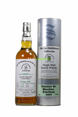 Glenlivet 2007/2019 Signatory Un-chillfiltered Collection...