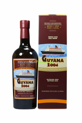 Guyana 2004 Single Cask #71 Transcontinental Rum Line...