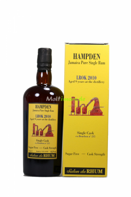 Hampden LROK 2010 Salon du Rhum Single Cask 63,2% vol. 700ml