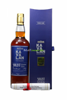 KAVALAN Solist Vinho Barrique Single Cask 57,1 vol. 700ml