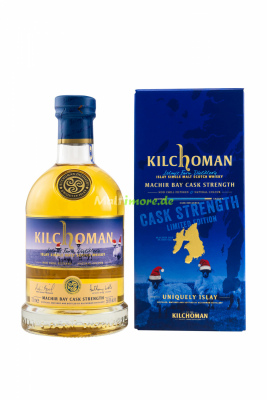 Kilchoman Machir Bay Cask Strength Christmas Malt Release...