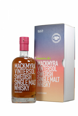 Mackmyra Vintersol Swedish Single Malt Whisky Ex-Port...