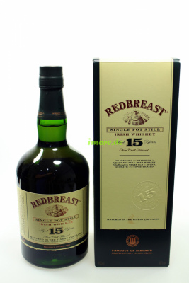 Redbreast 15 Jahre Single Pot Still Oak Cask 46% 700ml