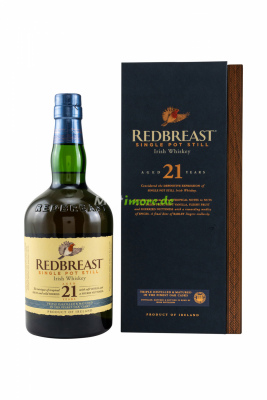 Redbreast 21 Jahre Single Pot Still 46% vol. 700ml
