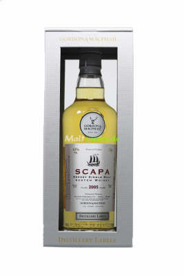 Scapa 2005/2019 Gordon & MacPhail Distillery Label 43%...