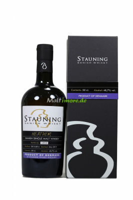 Stauning Heather May 2019 5 y.o. Danish Whisky 48,7% vol....