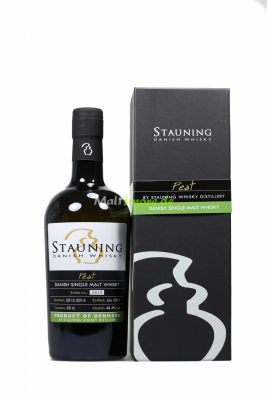 Stauning Peat July 2019 Danish Whisky 48,4% vol. 500ml
