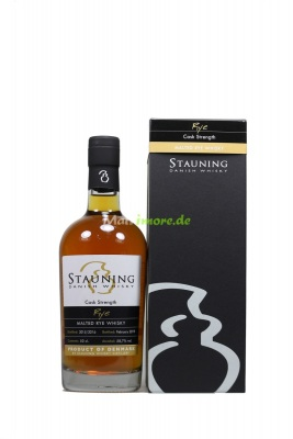 Stauning Rye Cask Strength 2019 Danish Whisky 58,7% vol....