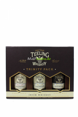 Teeling Trinity Pack 3x50ml Tasting Set 46%