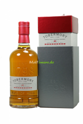 Tobermory 20 Jahre Sherry Finish 46,3% vol. 700ml