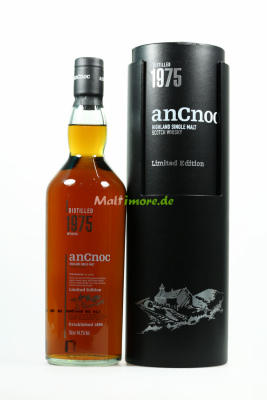 anCnoc 1975 Limited Edition Highland Scotch Single Malt...