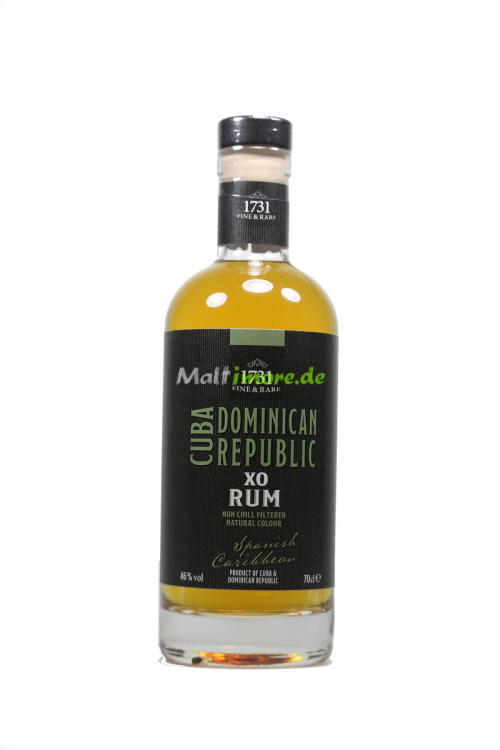 1731 Fine & Rare Spanish Caribbean Rum 46% vol. 700ml