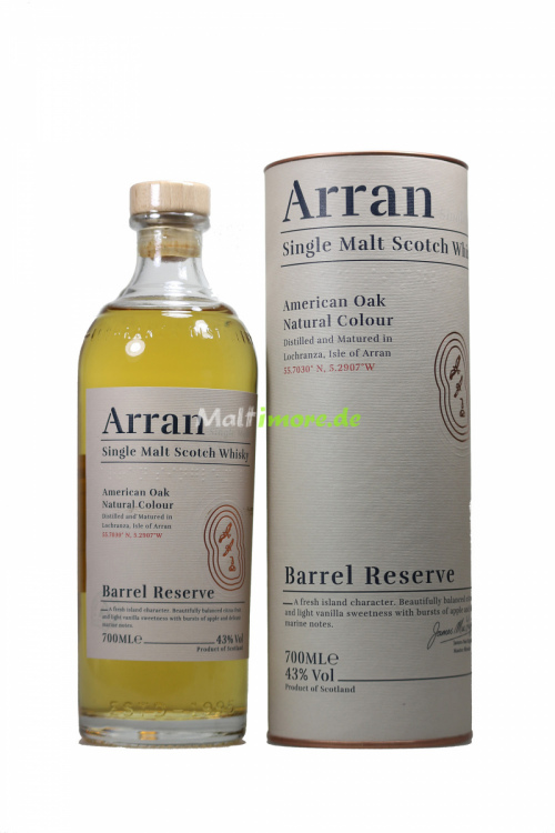 Arran Barrel Reserve Single Malt Scotch Whisky 43% vol. 700ml