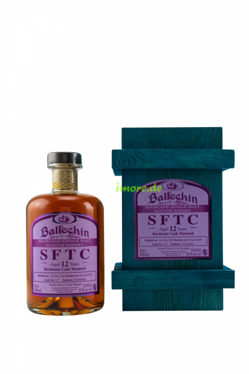 Ballechin SFTC 2004/2017 12 Jahre Port Cask No.217 54,5% vol 500ml