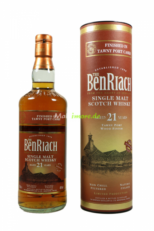 Benriach 21 Jahre Tawny Port Finish 46% 700ml