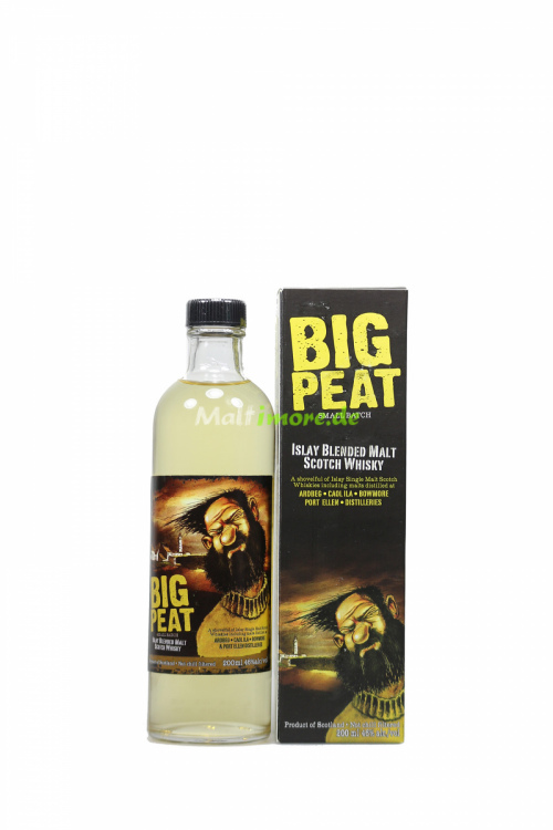 Big Peat Small Batch Islay Blended Malt 46% vol. 200ml