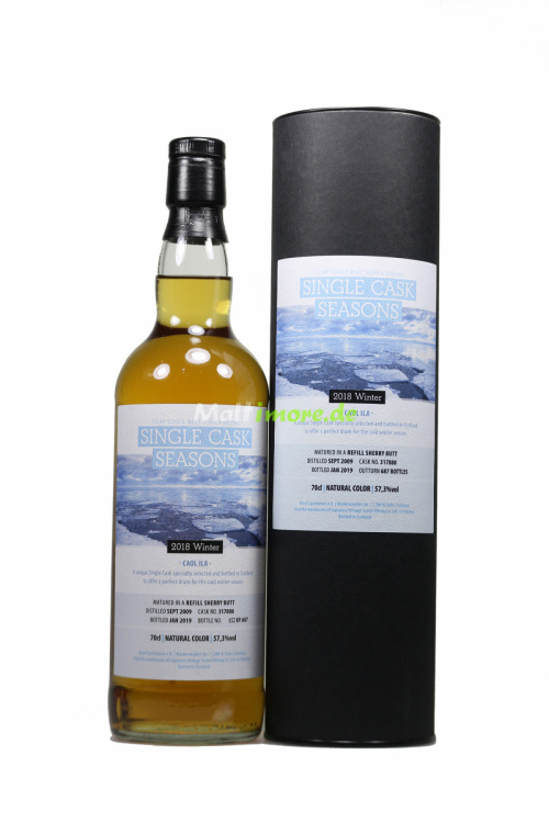 Caol Ila 2009/2019 SV Single Cask Seasons Winter 2018 Refill Sherry Butt 57,3% 700ml