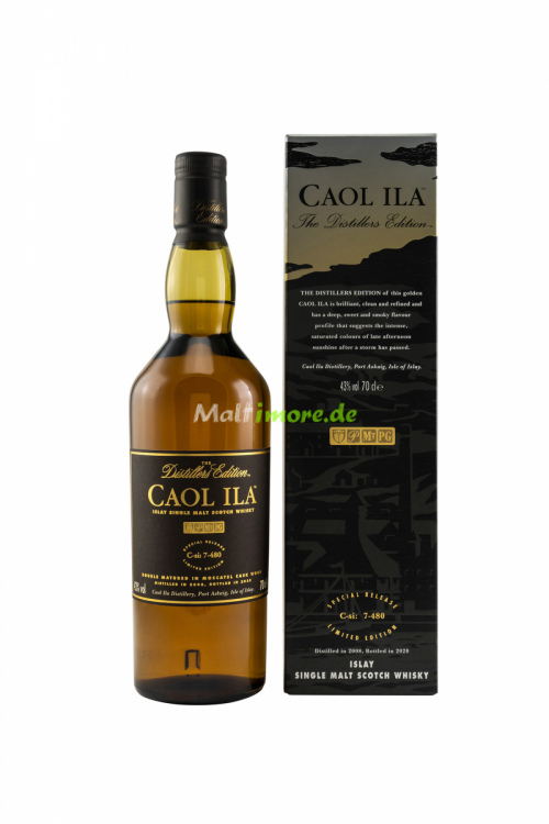 Caol Ila Distillers Edition 2008/2020 Islay Single Malt 43% vol. 700ml