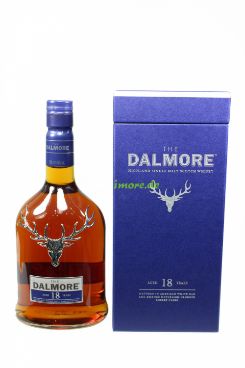 Dalmore 18 Jahre American White Oak and Oloroso Casks 43% 700ml
